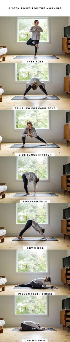 Yoga training to lose weight and belly fat - A SImple Morning Yoga Routine to Make the Most of an Extra Hour Yoga Meditation, Yoga Bewegungen, Yoga Moves, Ashtanga Yoga, Vinyasa Yoga, Yoga Flow, Yoga Exercises, Yoga Adriene, Stretches