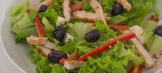 Insalata di pollo con feta greca: preparazione passo passo - ricetta di pollo, piatti unici, secondo piatto, ricetta light e saporita
