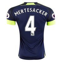 Arsenal FC Third 16-17 Season Soccer Shirt #4 MERTESACKER Jersey