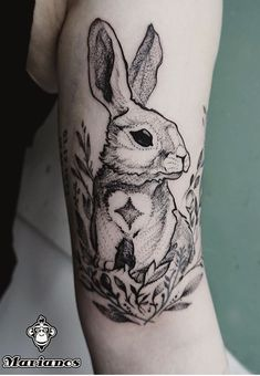 Marianos rabbit tattoo