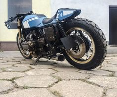 Honda Goldwing GL1000 Cafe Racer by Cardsharper Customs #motorcycles #caferacer #motos | caferacerpasion.com