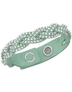 Swarovski bracelet Slake Braided Turquoise 5005053