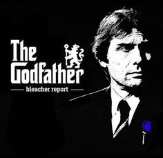 The Godfather - Antonio Conte Chelsea Football, Chelsea Fc, Antonio Conte, Stamford Bridge, Fulham, Houston Texans, The Godfather, Best Player, American Football