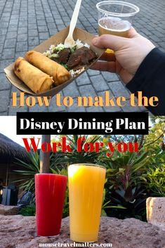 Disney Quick-Service Dining Plan – Finance tips, saving money, budgeting planner Disney Gift, Disney Food, Walt Disney World Vacations, Disney Parks, Disney Trips, Disney Travel, Secret Menu Items, Cinnamon Twists, Disney Dining Plan