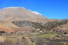 "Im Aït Bouguemez, ""Tal der Glücklichen"", Hoher Atlas, Marokko Grand Canyon, Mountains, Nature, Travel, Mountain Landscape, Mountain Range, Morocco, Hiking, Viajes"