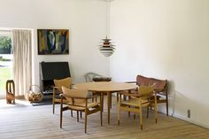 Built in 1942, Finn Juhl's home remains one of the greatest masterpieces of Danish design.