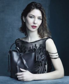 Marc Jacobs' Muse and Friend of the House Sofia Coppola in the Louis Vuitton Spring/Summer 2014 Fashion Campaign, shot by Steven Meisel.
