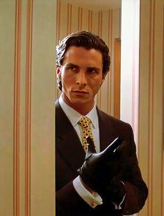 BROTHERTEDD.COM - pedroam-bang: American Psycho (2000) American Psycho Movie, Christian Bale, Dark Knight, Man Crush, Samurai, Hair Cuts, Tumblr, Culture, Discover Yourself