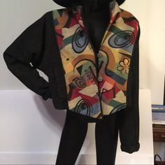 Stunning jacket Beautiful jacket, perfect condition! medium, gorgeous! Treadle design room Jackets & Coats