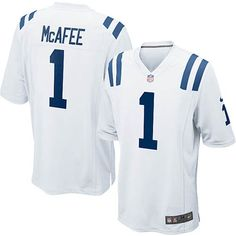 ... Nike Limited Pat McAfee White Youth Jersey - Indianapolis Colts 1 NFL  Road ... feb85cb7e