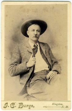 Legendary Indian Territory lawman Heck Thomas in Kingman, N. M.