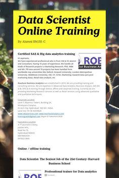 Data Scientist Online Training