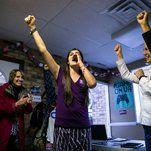 New York Times - Democrats' broad-based election wins on Tuesday reflected the strength of the party's diverse voters and the power of their anger over President Trump.