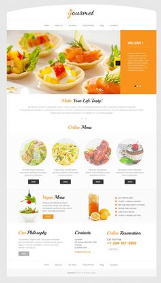 Delicious Cafe WordPress Theme New Screenshots BIG