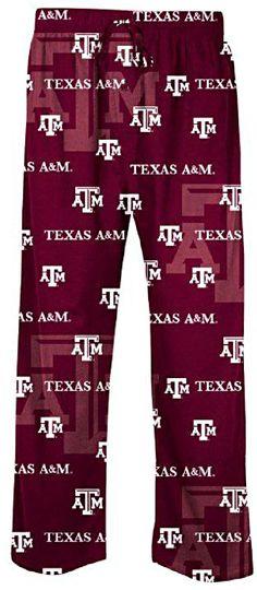 big sale 18219 e5394 Texas A M Aggies Men s Maroon NCAA Keynote Pajama Pants