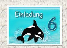 Einladungskarte Kindergeburtstag Delfin | Pinterest | Einladungskarten  Kindergeburtstag, Einladungskarten Und Dschungel