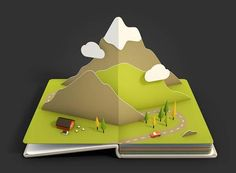 The Amazing Animated Pop-Up Book Pages