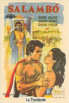 Salambo: High Priestess of Ancient Carthage Best Movie Posters, Epic Movie, Carthage, Ancient Romans, Old Movies, Pulp Fiction, Photo Illustration, Cover Art, Movie Stars