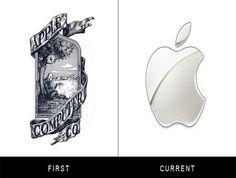 Famous brand's original logos