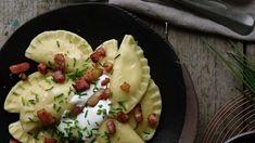 Plněné taštičky nebo knedlíčky nejsou specialitou jen v asijské kuchyni, pozor na to! Ravioli, Potato Salad, Potatoes, Fresh, Ethnic Recipes, Food, Eten, Potato, Meals