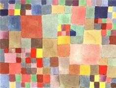 Flora on sand - Paul Klee