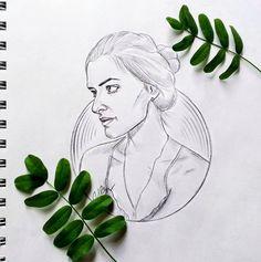 #nayakochetkova #рисунок #зелень #листья