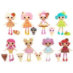 """Lalaloopsy Doll - Mini Lalaloopsy Surgar & Spice Dolls 8-Pack - MGA Entertainment - Toys""""R""""Us"""
