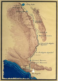 California's Water Infrastructure Systems: The Los Angeles Aqueduct   MAVEN'S NOTEBOOK