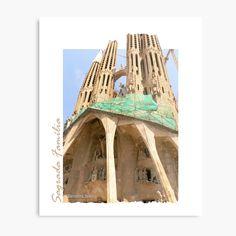 Antoni Gaudi, Original Art For Sale, Barcelona Spain, Towers, Fine Art America, Catholic, Art Drawings, Alice, My Arts