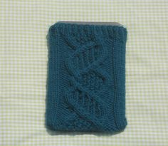 Kindle cover free knitting pattern