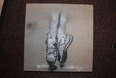 Stencil ballerina converse
