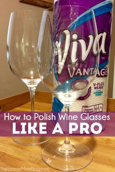 Get that fancy restaurant shine at home with these simple tips! Learn how to polish wine glasses like a pro in minutes!