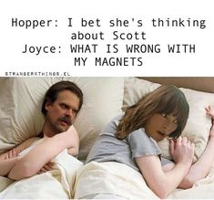 lmao his was too funny Stranger Things Fotos, Stranger Things Quote, Stranger Things Have Happened, Stranger Things Aesthetic, Stranger Things Netflix, Really Funny Memes, Stupid Funny Memes, Stranger Danger, Fandoms