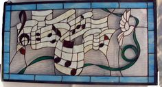 stained glass musical patterns | Click on Picture to Enlarge)
