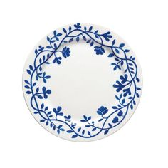 This beautiful small plate is part of Rörstrands porcelain series Pergola that was designed by Katarina Brieditis. The series comes with a beautiful, classic Scandinavian design with a pattern of intricate blue flowers. Pottery Painting, Ceramic Painting, Ceramic Plates, Decorative Plates, Painted Plates, Swedish Traditions, Pottery Supplies, Pottery Classes, Small Pergola