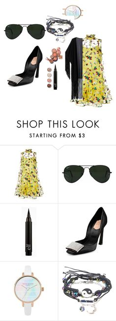 """Untitled #109"" by mirelazenunovic on Polyvore featuring Erdem, Ray-Ban, Terre Mère, Roger Vivier and WithChic"