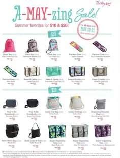 A-MAY-ZING Sale starts May 12-21...WHILE SUPPLIES LAST! 10 items for $10 and 10 items for $20