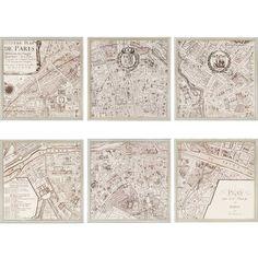Paragon - Paris, 1715 Pk/6 H:21 W:21 D:1