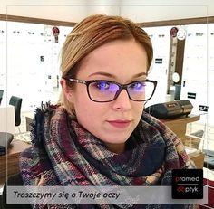 Wczoraj odebrała swoje nowe okulary Pani Sylwia. Musicie przyznać - jest pięknie! Serdecznie pozdrawiamy Panią Sylwię :) #optyk #optometrysta #okulista #okulary #prevencia #eyezen