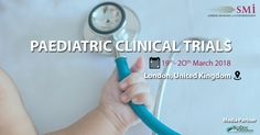 SMi is pleased to present the return of their 12th annual Paediatric clinical trials Conference.  For Information https://www.smi-online.co.uk/pharmaceuticals/uk/paediatric-clinical-trials