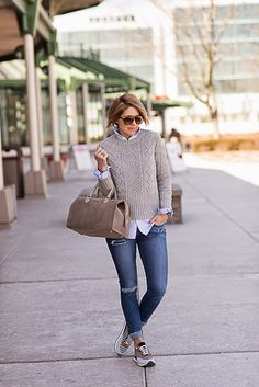 s e e r s u c k e r + s a d d l e s: Sneak Attack Source by casual Mom Outfits, Casual Fall Outfits, Winter Outfits, Cute Outfits, Looks Style, Casual Looks, My Style, Love Fashion, Fashion Outfits