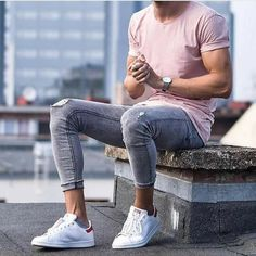 Party Outfit Men Casual Jeans Mens Fashion 49 Ideas For 2019 Fashion 90s, Mens Fashion 2018, Style Fashion, Fashion Ideas, Sneakers Mode, Sneakers Fashion, Men Sneakers, Casual Jeans, Men Casual