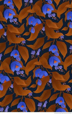 Tropical Garden Patterns on Behance