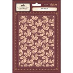 Crafter's Companion Downton Abbey Embossing Folder - Thistle