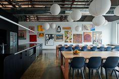 Melbourne, Exposed Trusses, Restaurants, Concrete Column, Community Housing, Digital Footprint, Interior Architecture, Interior Design, Co Working