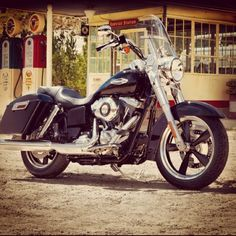 Dreaming. Harley-Davidson Dyna Switchback. #motorcycles