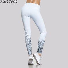 High performance lycras sport wear products fiber leggings