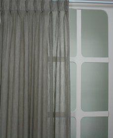 Vitrage voor in mijn slaapkamer, Inbetween 4586 Taupe (voordeelgordijnen.nl) € 10,95 p/m Kamerhoog, Gepind door Michele Schutte