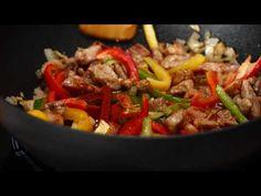 (73) Tigaie rapida cu carne si legume - YouTube Beef, Facebook, Youtube, Food, Meat, Essen, Meals, Youtubers, Yemek