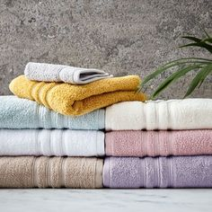 Wrap yourself in these luxuriously soft, extra absorbent 100% cotton zero twist towels. The unique untwisted yarns ensure the towels are soft, light and fluffy. The range is available in a choice of 6 colours – from classic shades of cream and natural to the gorgeous pastel tones of pink and duck egg. Individual pieces and bath sheet pairs are also available to complete the collection.
